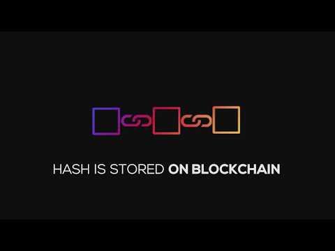 Digital certificate on Blockchain
