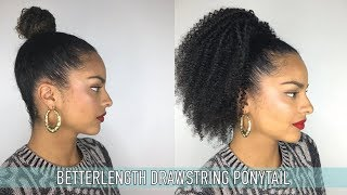 BETTERLENGTH Drawstring Ponytail Review