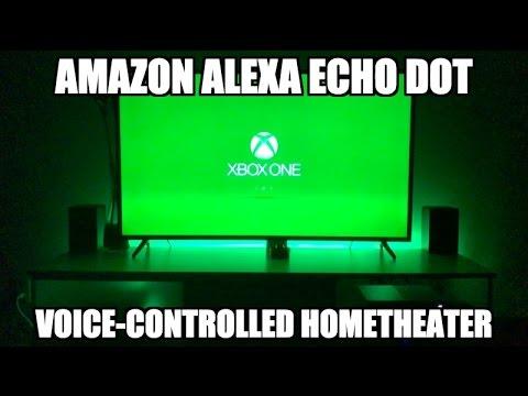 Amazon Alexa Echo Dot - Home Theater Voice Control