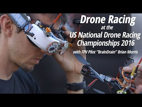 Drone Racing at the US National Drone Racing Championships 2016