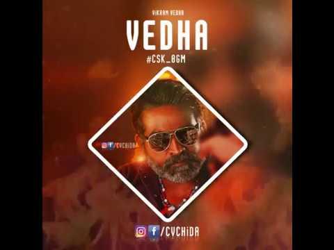 Vikram Vedha - Vijay Sethupathi Mass BGM - Tamil Whatsapp Status Video - CSK BGM