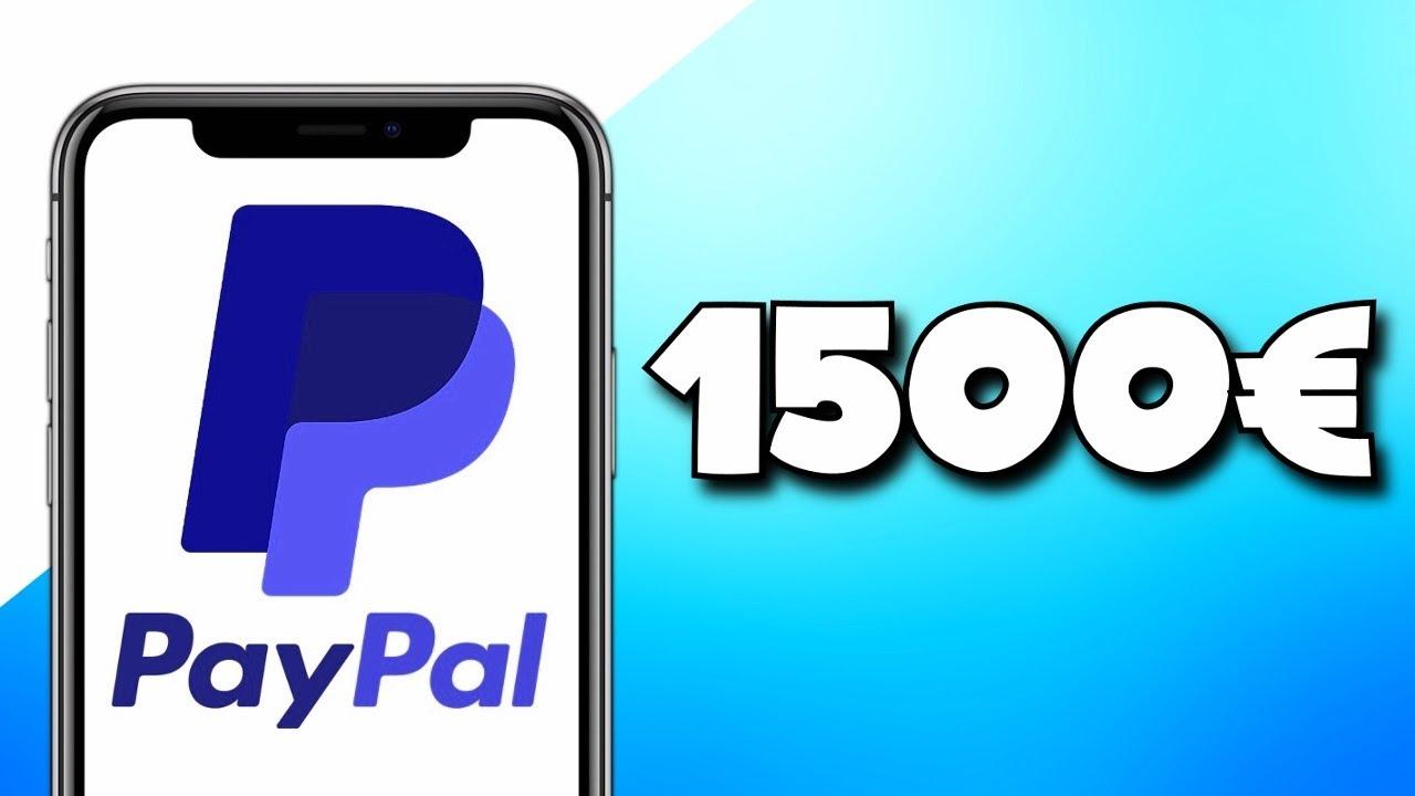 Gagner 1500€ D'Argent PayPal par SEMAINE en 2020 / Gagner de l'Argent en Ligne, Argent PayPal, 2020