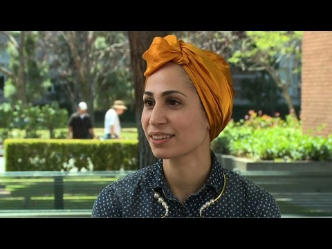 Tahereh Mafi at 2015 L.A. Times Festival of Books