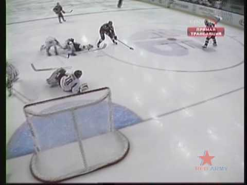 Ice-Hockey, Spartak - CSKA, 2-4