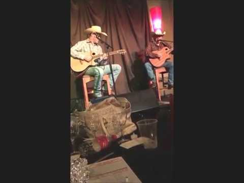 Johnny Rodriguez amigo Kelly Kenning WHAT A COWBOY WAS Tomball 5-28-2016