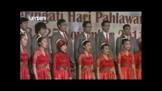 PSM MERCUBUANA - GUGUR BUNGA & MERAH PUTIH ( 4th untar choir competition 2011)