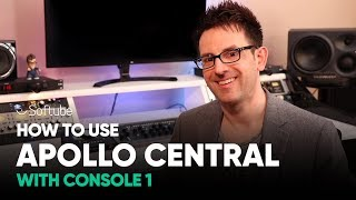How to use Apollo Central with Console 1 – Softube