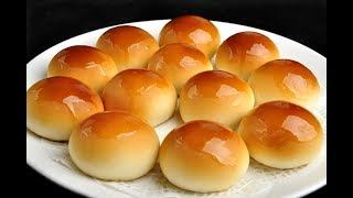 How to Make Super Soft and Moist Chinese Bakery Buns / Milk Bread