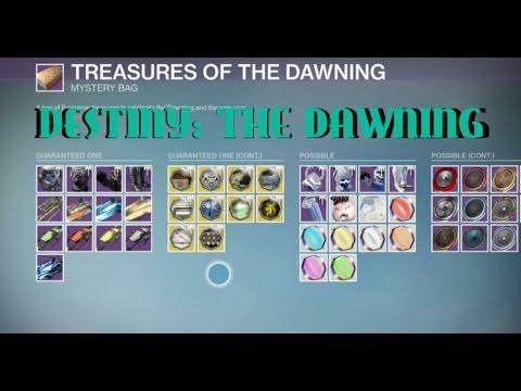 Destiny ''THE DAWNING - SRL & Dawning Treasure Bag''