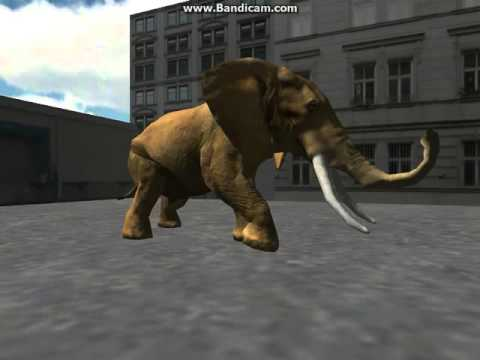 3D Elephant Simulator - Angry Animal Simulator and City Destruction Simulation Game iOS Gameplay