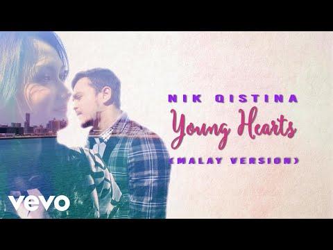 Nik Qistina - Young Hearts (Lyric Video / Malay Version)
