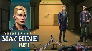 The Murder - Whispers of a Machine Part 1 - Pre-Release Let's Play Blind Gameplay