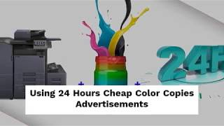 24 Hours Cheap Color Copies at 55printing.com