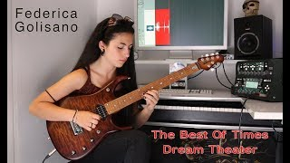 The Best of Times - Dream Theater -  Guitar solo - Federica Golisano 15 Years OLD