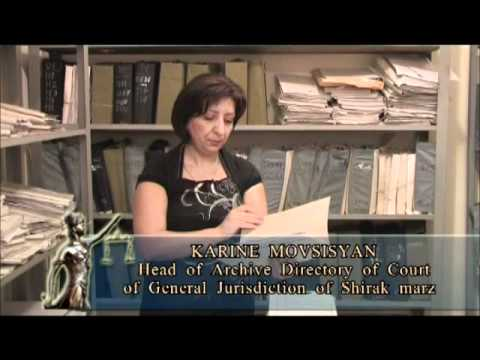 Judicial Reform in Armenia - English.wmv