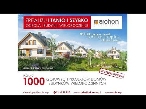 Projekty Domów I Budynków Wielorodzinnych Archon Archon Biuro