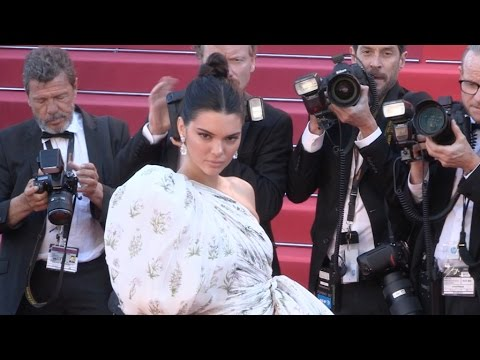 Kendall Jenner on the red carpet for the Premiere of 120 battements par minutes