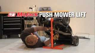 MoJack Push Mower Lift demo video