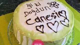 Doğum Günü Pastası Tarifi   Yaş Pasta   Tadimiztuzumuz