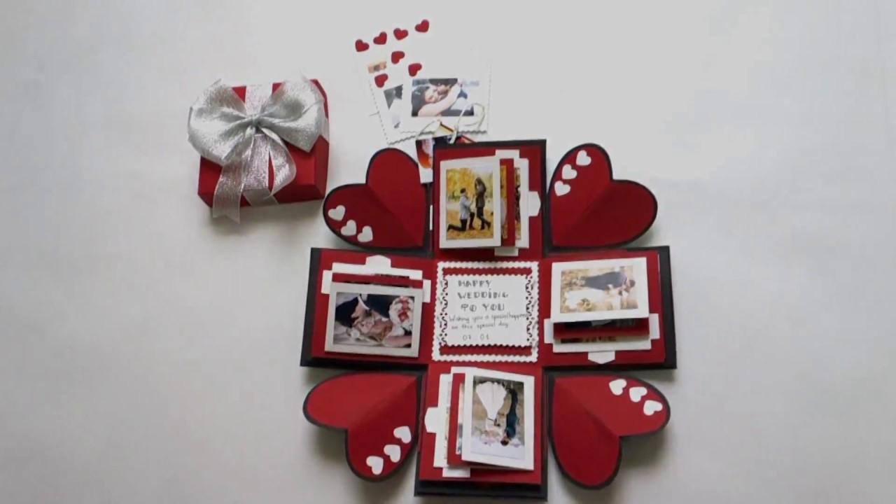 Love Explosion Box Photo Album Perfect Gift For