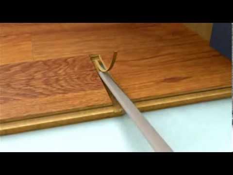 How To Lay Kaindl Laminate Or Wood Flooring Youtube