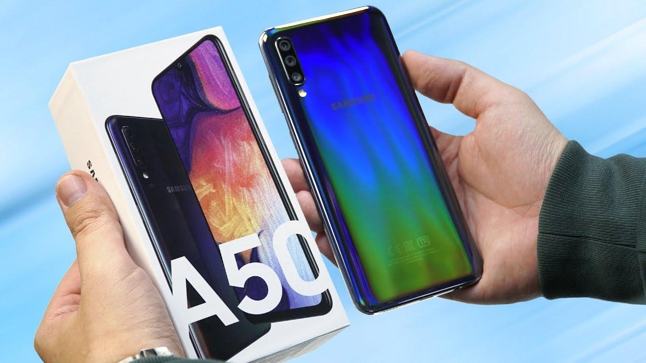 304bb56f42110 Распаковка Samsung Galaxy A50 за 19 990 рублей. Готовим сравнение с Honor  10i, Redmi Note 7 и A30!