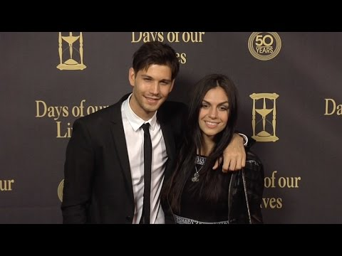 Casey Jon Deidrick Red Carpet Style at Days of Our Lives 50 Anniversary Party