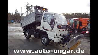 Youtube-Video Durso Durso Multimobil M3.50 4x4 Kipper Winterdienst Bj. 2015 Zugmaschine