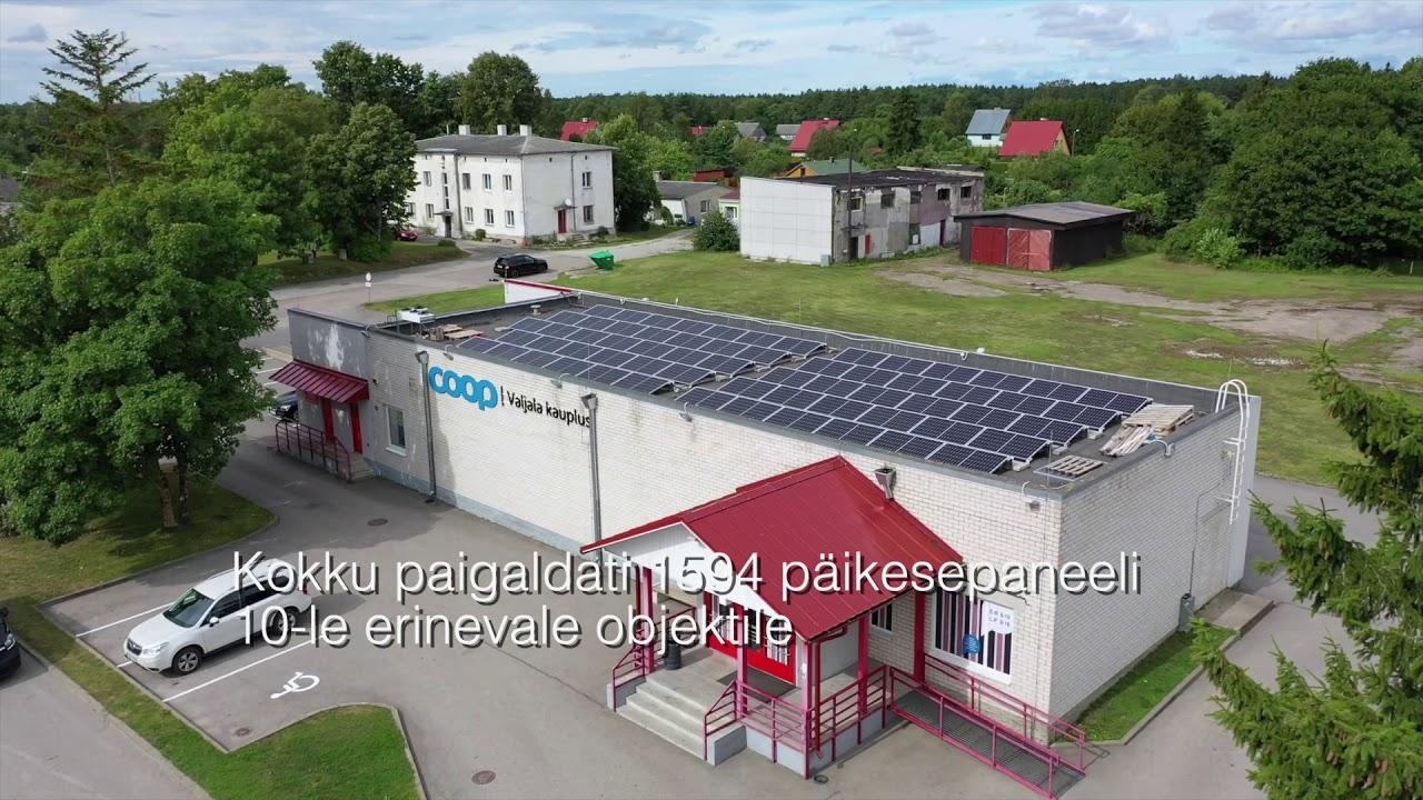 Saaremaa Tarbijate Ühistu päikeseelektrijaamad