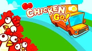 GO CHICKEN GO! - CHICKENS VS CARS - HIGH SCORE - EPIC GAMEPLAY (HD)