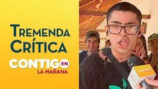 Joven sacó aplausos con improvisado rap para postergar Servicio Militar - Contigo en La Mañana