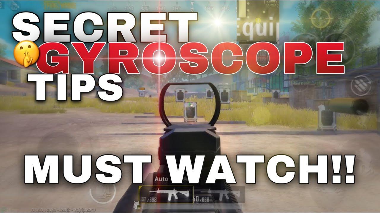 SECRET Gyroscope Tips + Training Drills And Sensitivity Settings | PUBG MOBILE
