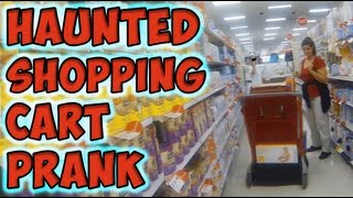 Haunted Shopping Cart Prank