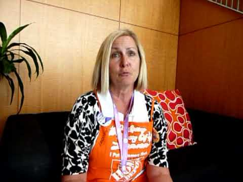 Women's Conference 2009; Home Depot & Ryobi Tools team up to help women build a better world
