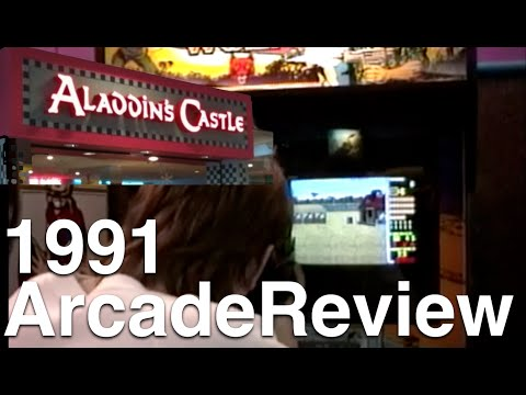 1991 Bally's Aladdin's Castle Arcade Games Review