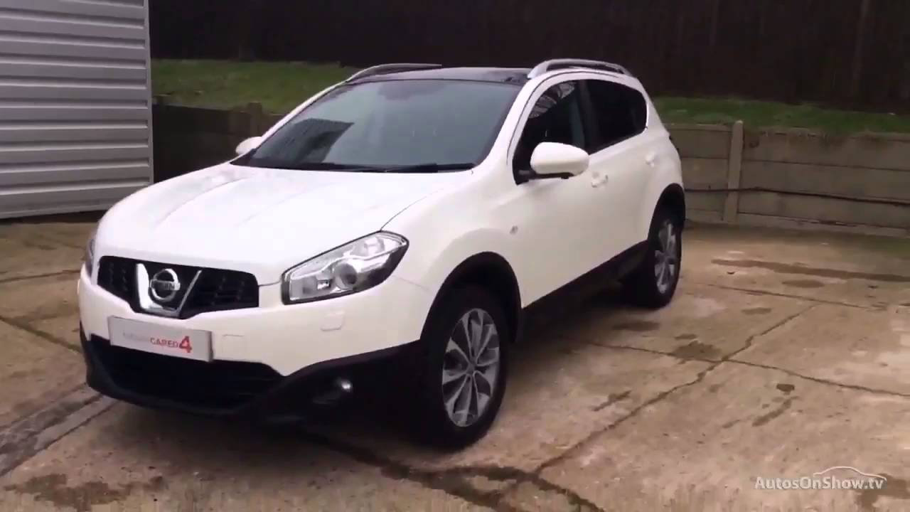 nissan qashqai tekna white 2012 youtube. Black Bedroom Furniture Sets. Home Design Ideas