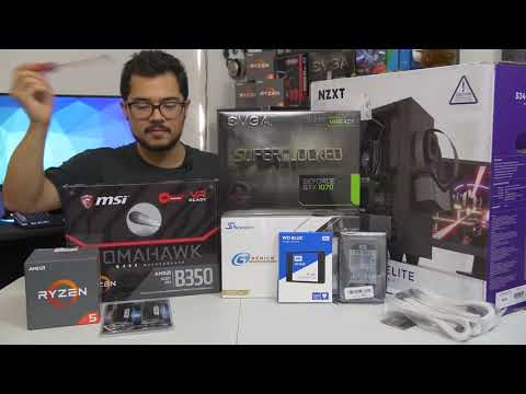 How to Build a PC! Step by step mp4