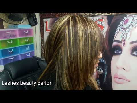 HIGHLIGHTING WITH SLICING TECHNIQUE Demo(nazia Bilal)