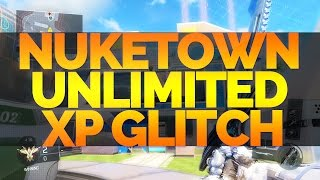 UNLIMITED XP LOBBY GLITCH! Black Ops 3: NUKETOWN Unlimited XP Glitch! (After Patch 1.08) COD BO3!