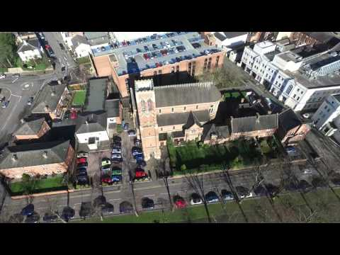 Drone over Leamington Spa