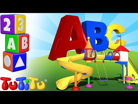 TuTiTu Preescolar | Aprende inglés | El Abecedario en Ingles | ABC parque de juegos
