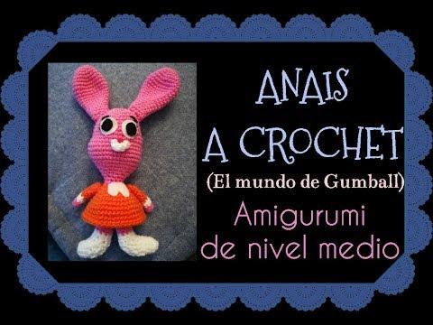 Gumball Watterson llavero amigurumi | Amigurumi, Bebek | 360x480