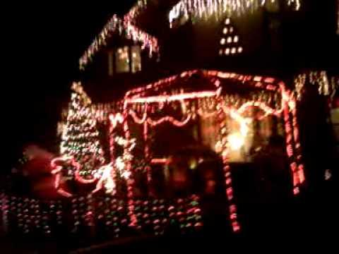 Casa adornada navidad 2010 youtube - Casas adornadas de navidad ...