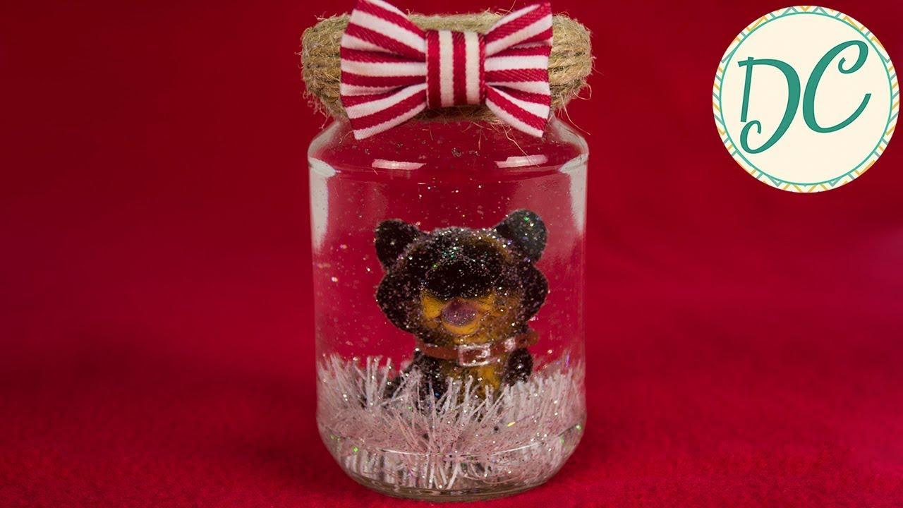 Подарок На Новый Год! Снежный Шар Своими Руками! - YouTube