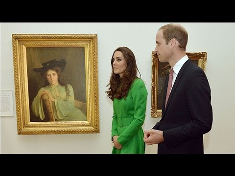 Royals visit National Portrait Gallery
