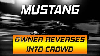 The FASTEST V6 Dodge Charger in DFW!!! Mustang ALMOST runs into CROWD!!!