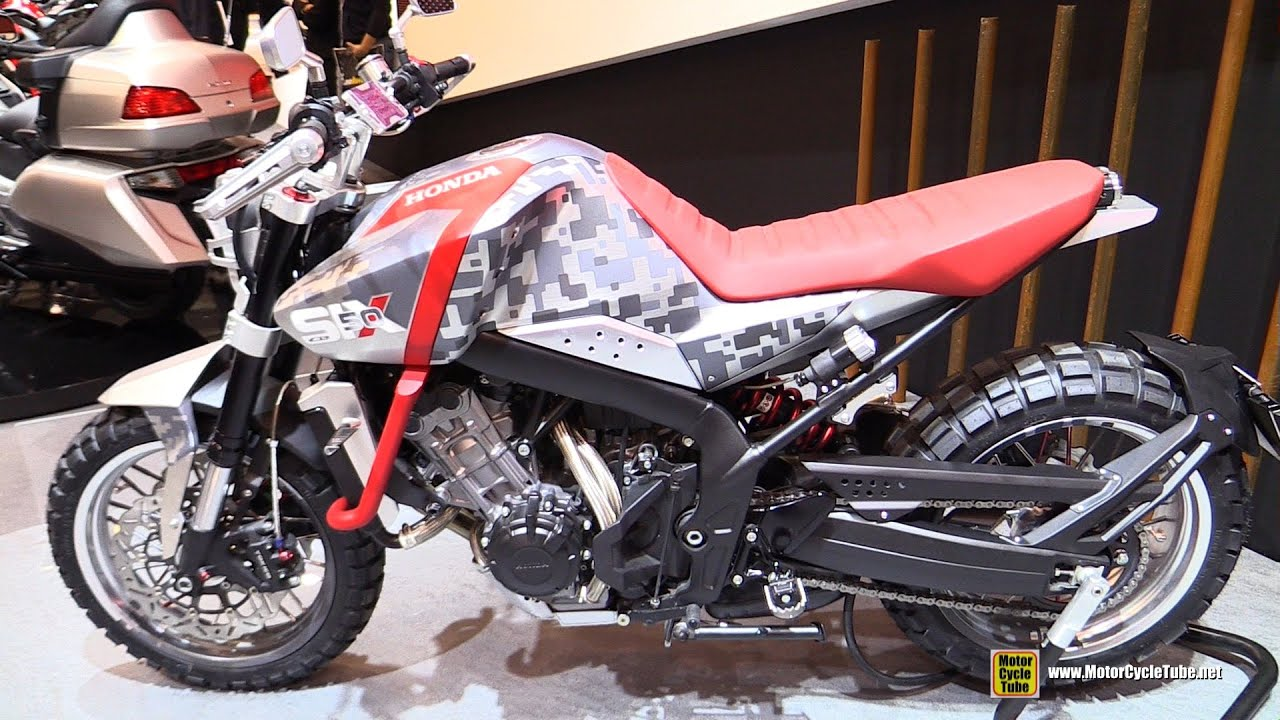 honda six 50 concept walkaround 2015 salon de la moto paris youtube. Black Bedroom Furniture Sets. Home Design Ideas