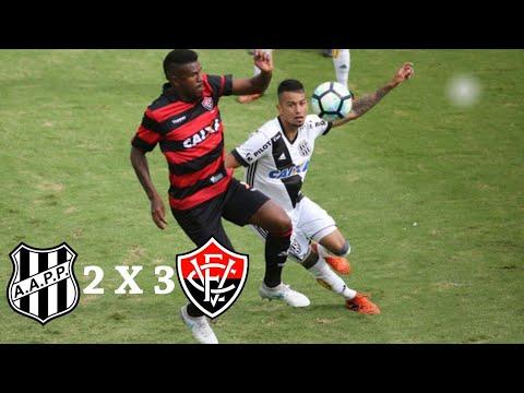 Ponte Preta 2 X 3 Vitória (HD) Melhores Momentos E Gols ( Brasileirão ) 26/11/2017