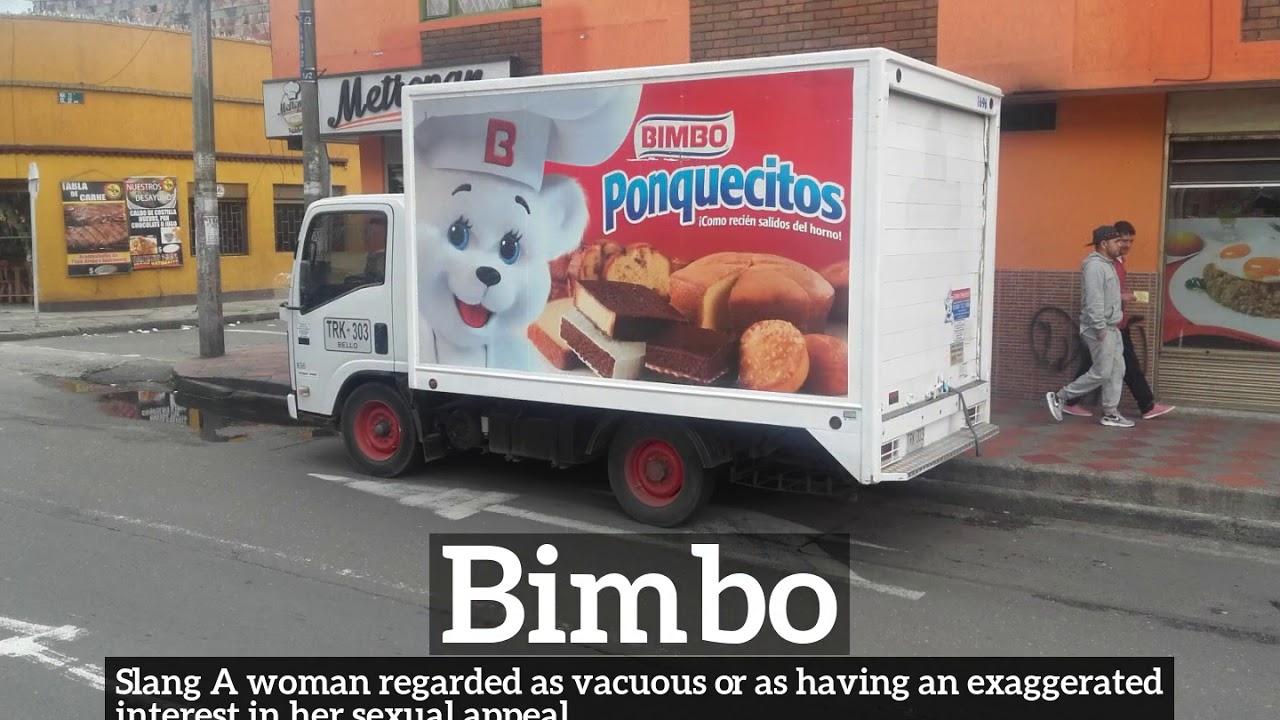 How to Say Bimbo in English? | What is Bimbo? | How Does Bimbo Look?