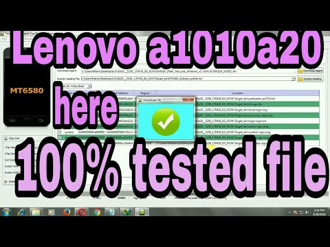 Lenovo A319 flash file Without Password